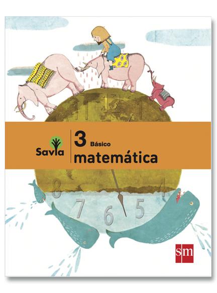 Matemáticas 3°, Savia
