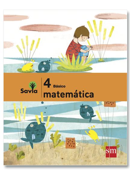 Matemáticas 4°, Savia