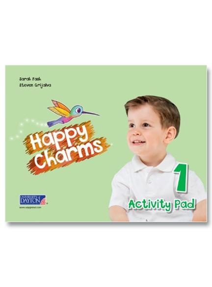 1 Happy Charms Activity Pad