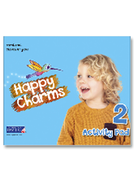 2 Happy Charms Activity Pad