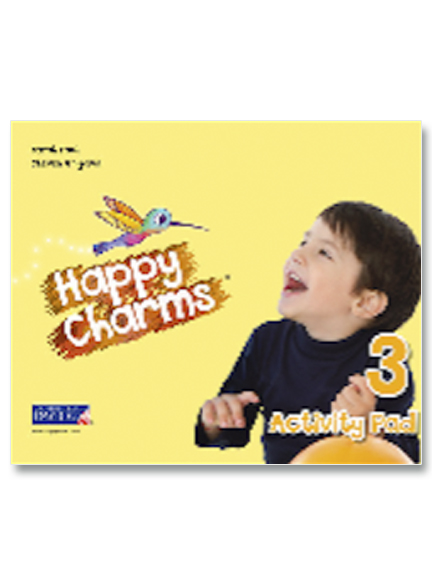 3 Happy Charms Activity Pad